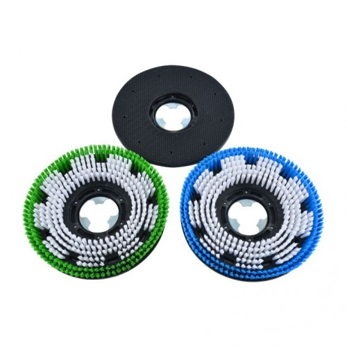 Pad Holder & Scrubbing Brush