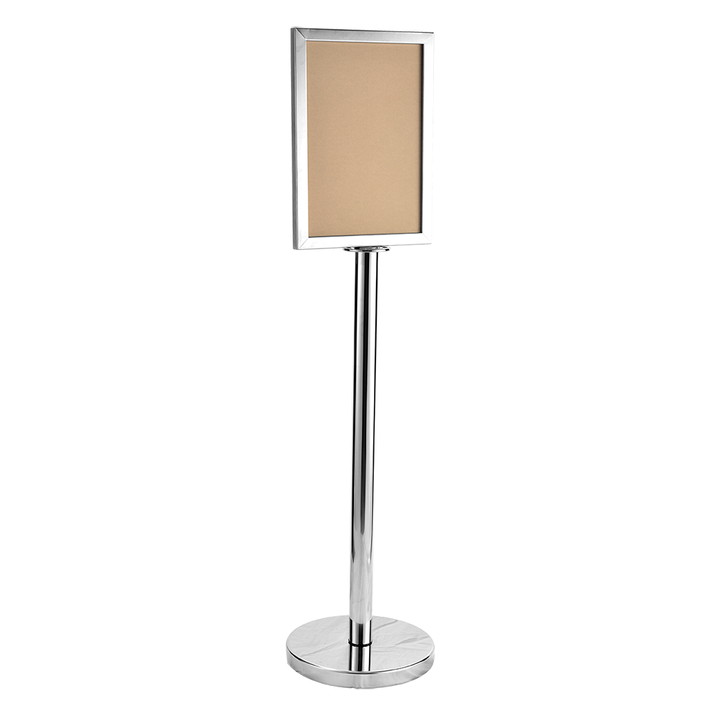 Stainless Steel Sign Board Stand Malaysia Leading