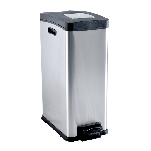 Stainless Steel Rejoice Step Bin(EK9238MT)