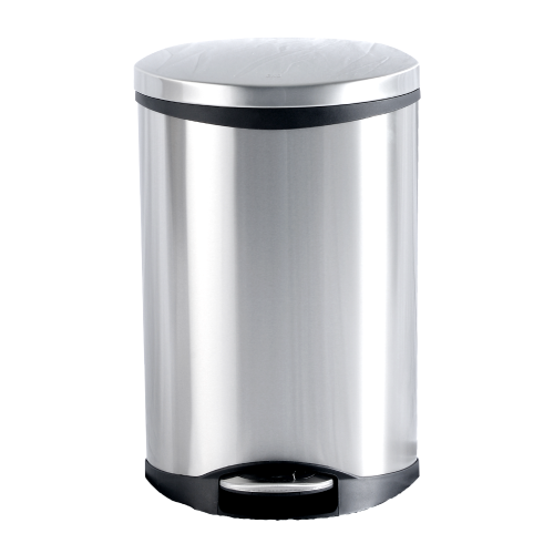 Stainless Steel Shell Step Bin(EK9218MT-6L)