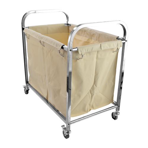 Stainless Steel Soil Linen Trolley