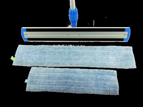 CT flat mop 40cm & 60 cm microfiber wet&dry pad refill