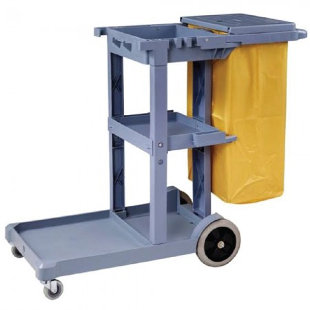 JANITOR-CART-TROLLEY---GREY