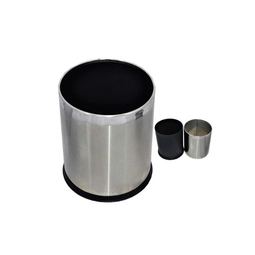 Stainless Steel Bins Double Layer