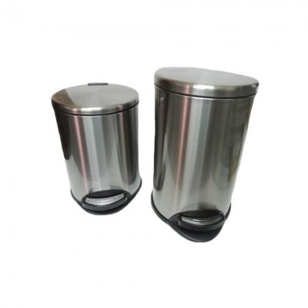 Stainless Steel Pedal Bin 8_12_18Litter