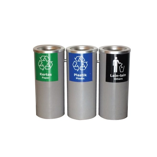 Stainless Steel Recycle Bins