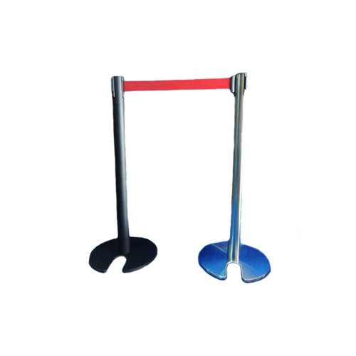 Stainless Steel Stockable & Retractable Q Up Stand
